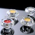 pequeño cristal votivas candelabros de suelo