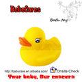 Caliente- vender clásico bebé de goma del pato de baño
