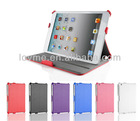 folding stand pu flip wallet leather case for apple ipad mini tablet