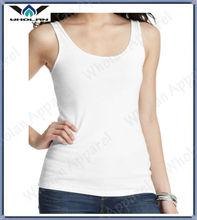 ladies white tight sexy good quality cotton tank tops