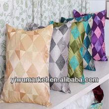Yiwu Custom Home Decor Imitated Silk Baroque Printed Decorative Custom Throw Pillow