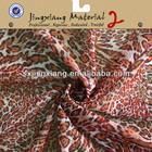 2014 Leopard Print Silk Chiffon Fabric