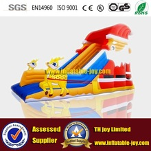TH joy inflatable jump & slide combo