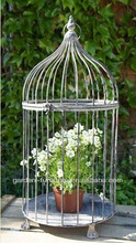 wholesale shabby and chic cages garden decor handmade craft decorative metal antique round bird cage