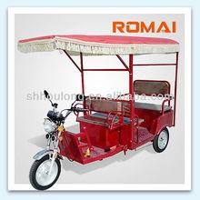 ROMAI Electric tricycle, Electric Rickshaw, autorickshaw, three wheeler, E-tricycle, trike,E-vehicles,battery operated rickshaw