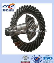 Steyr ( eixo traseiro ) roda de coroa e pinhão 99012320177 por engrenagem lapidação com relação de 17/28