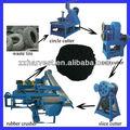 Cerca de 30 años de experiencia exportadora de residuos de reciclaje de neumáticos equipo de precios/los residuos de reciclaje de neumáticos de la máquina/neumático reciclado de residuos de la planta