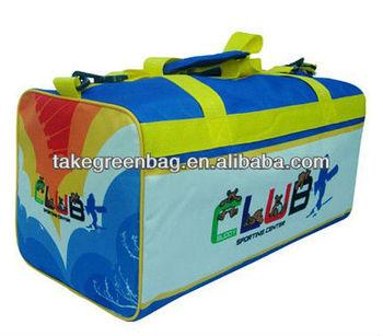 polyester sport duffel bag