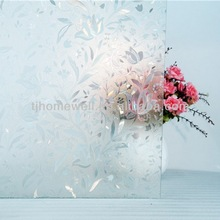 3D PVC decorative glass film kitchen cabinet door glass film window film&flooring cover