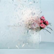 3D PVC decorative glass film kitchen cabinet door glass film window film&flooring cover