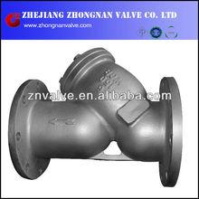 ANSI WCB A216 Carbon Steel 150LB Y FILTER Stainer Flange end