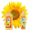 Sunflower oil, edible cooking oil