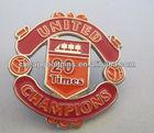 gold lapel pin metal pin badge