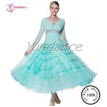 B-13472 Beautiful 100% Luxury Ballroom Dancing Dresses China, Ballroom Dress China