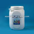Productos químicos para piscinas 65% 70% calcio hipoclorito fórmula química