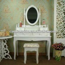 K/D dresser/White Dresser with Mirror / Bedroom Furniture