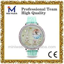 2015 wholesale korea design fashion luxury lady wrist watch cheap price PC1309