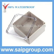 IP66 China Plexiglass Boxes Waterproof With Clear Cover200x200x130mm