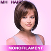 Wholesale 100% Kanekalon synthetic hair wigs, synthetic wigs