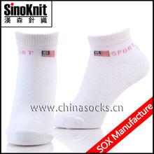 Calcio bianco 100% cotone calze per bambini usa e getta