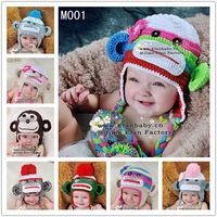 wholesale cheap baby winter beanies crochet animal cap baby