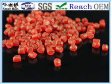 2014 wholesale marroon soft pvc granules for men holes pvc shoes