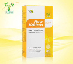 IQBLESS Neurotrophic Factors brain care memory enhancing product bee propolis