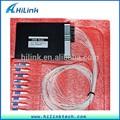 De fibra óptica de dwdm mux/demux 1x22 multiplexor hecho en china
