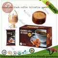 orgánica ultrafine lingzhi polvo de café instantáneo