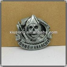 BUC9654 sons of anarchy custom west belt buckle