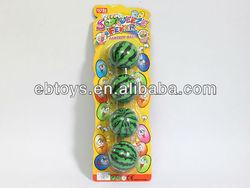 6.3cm watermelon PU ball toy sport