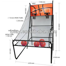 Rapid shoot basket stand,basketball shoot game toy for edult and kids with electronic score system