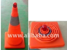 Retractable Traffic Cone -Collapsible Cone-Folding Cone