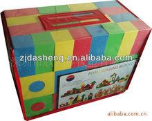 plastic large building blocks toy