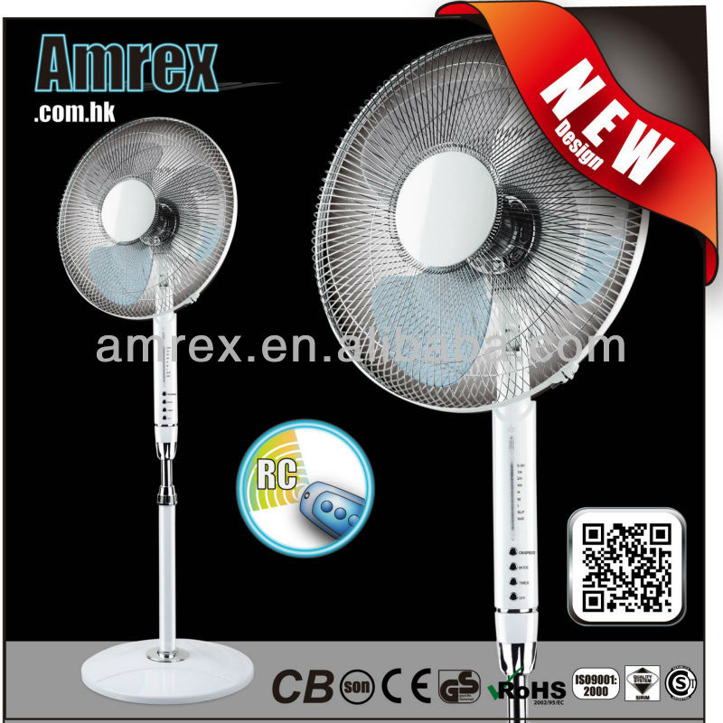 AXE-7-16RB - 16 INCH REMOTE CONTROL STAND FAN