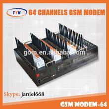 Providing 64 ports m35 gsm modem with USB/RS232 interface,usb sim modem