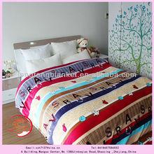 2014 new design polyester cheap wholesale blankets fleece throw in bulk