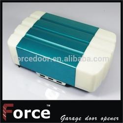 Roll up sectional garage door opener
