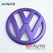 purple color VW different models of car rear mark emblem
