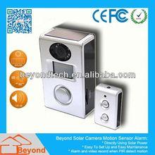 Mini Live Camera Solar Camera Alarm With Video Record and Solar Panel