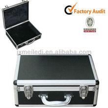 MLDGJ331 Professional High-quality Portable Leather Suitcase Beauty Aluminium Luggage Case