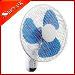 16 inch 40cm wall mounted plastic remote control best wall fan