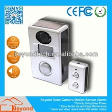 Sport Camera Mini Dvr Solar Camera Alarm With Video Record and Solar Panel