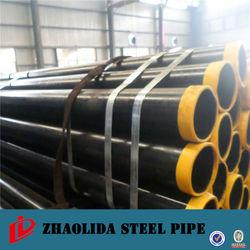 Black Round Mild Steel Pipes Price Q235