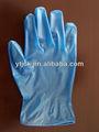 médico de vinilo guantes