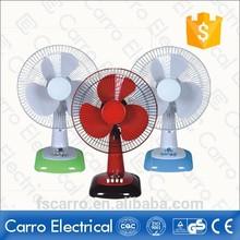 hot sale 12 inch dc slolar fan table fan specifications