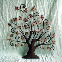 MW-VS1075 Metal tree wall decor hanging art