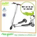 Più pieghevole popolari adulto rana scooter calcio/swing scooter a tre ruote( db8039xl- t- f)