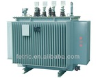 Oil immersed 60HZ copper winding wound core low loss 13.8kv transformer