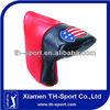 Custom Made PU Leather Golf Putter Head Covers